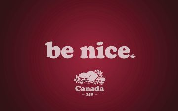 "For Canada 150, Roots wants Canadians to ""Be Nice"""