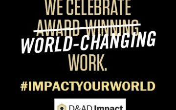 Second annual D&AD Impact announced by Advertising Week and D&AD