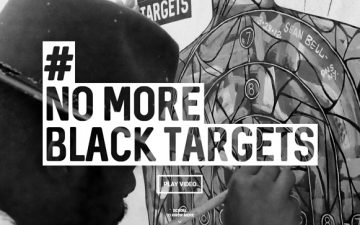 New York Society for Ethical Culture and Fred & Farid support #NoMoreBlackTargets artistic project