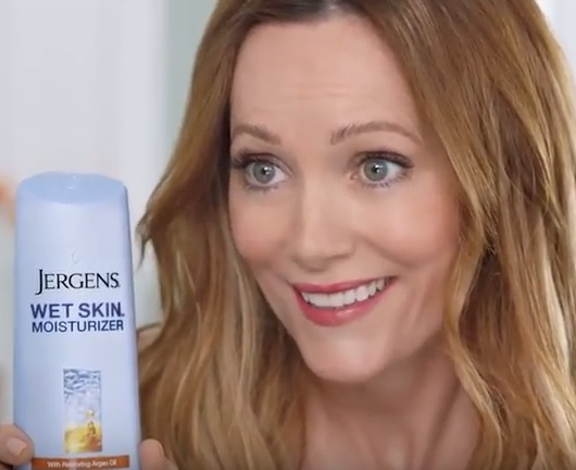 Leslie Mann And Her Daughter Together In A Jergens Campaign Signed