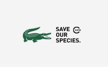 Lacoste and BETC swapped the crocodile in logo to raise awareness on biodiversity and animal rights