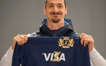 Zlatan Ibrahimovic Joins Visa Ahead of the 2018 FIFA World Cup Russia