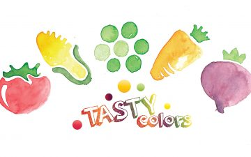 FCB Bucharest made Tasty Colors from veggies, for Louis Bonduelle Foundation