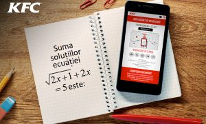 MRM//McCann Romania and KFC launched Studycoin to help students with their Baccalaureate exam