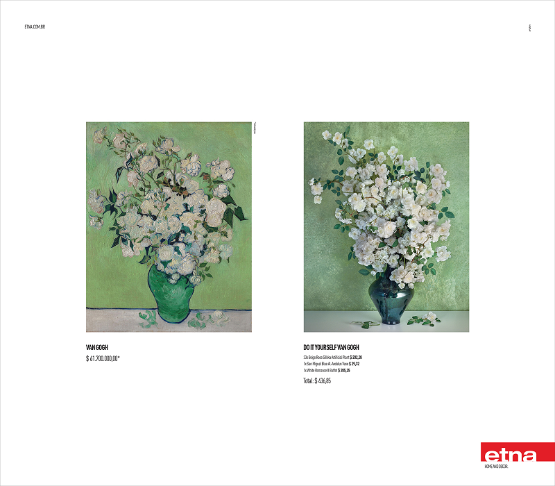 Brazilian artplan and etna reproduce classic paintings in a do it signed by artplan the campaign titled do it yourself brings adverstising pieces that reproduces impressionist paintings in printed medias solutioingenieria Gallery