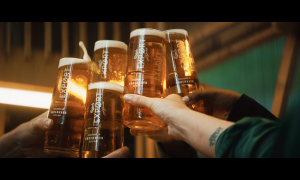 Carlsberg enlists 6 Brits to build the world's 1st waterfall-powered pub
