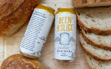 Beer from bread, created in Canada to raise awareness and funds for the food rescue organization