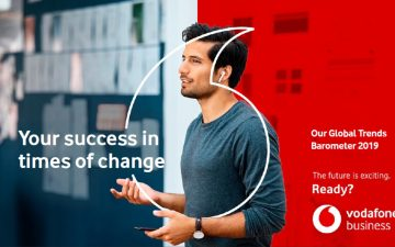 Vodafone Group launched 2019 Global Trends Report and unveiled new enterprise brand identity