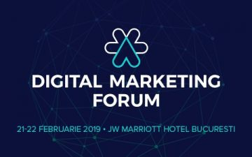 Romanian Digital Marketing Forum 2019: 3 innovative trainings with international specialists