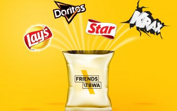 Friends\TBWA Bucharest to handle strategy and creative for PepsiCo's Lay's, Doritos, Star & Krax