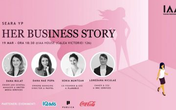 IAA Young Professionals organizes the first YP Evening dedicated to the feminine entrepreneurship