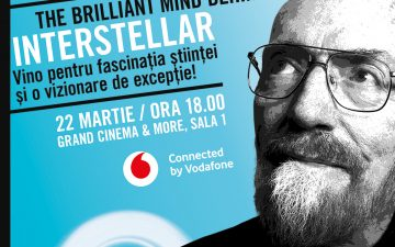 Kip Thorne, Physics Nobel prize winner, speaker at McCann/ Thiess Conferences in Bucharest
