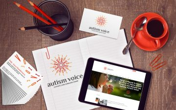pastel gives voice to the rebranding campaign Autism Voice