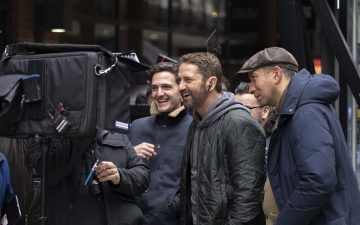 Entreprise and The Corner launched a campaign starring Gerard Butler
