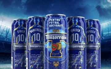 Timisoreana launched a limited series of personalized beer cans with the most 120 frequent family names in Romania