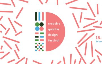 Creative Quarter Design Festival starts this Saturday