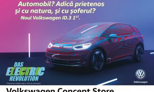 FCB Bucharest won the pitch for the communication of ID.3, Volkswagen's first fully electric vehicle