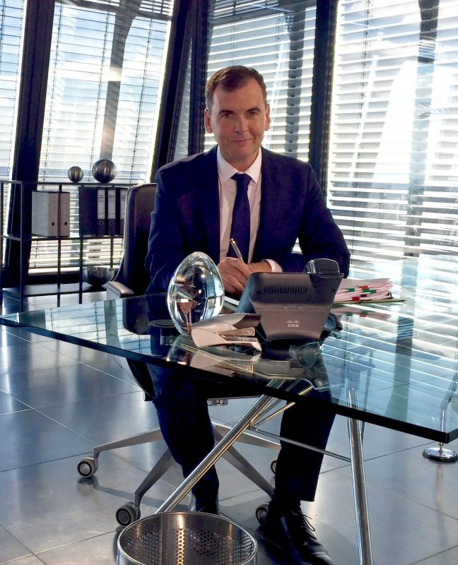 Mike Soutar, CEO of the Evening Standard