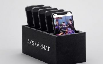 Stendahls crafted the perfect Christmas gift – a parking dock for mobiles – for Länsförsäkringar