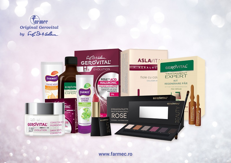 Romanian cosmetics producer Farmec posts a 46% increase in sales for its online platform for 2019