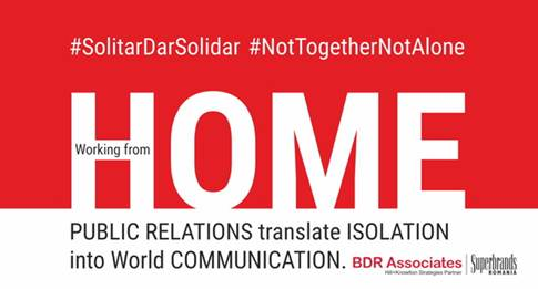 BDR Associates Launched #SolitarDarSolidar, #NotTogetherNotAlone Platform