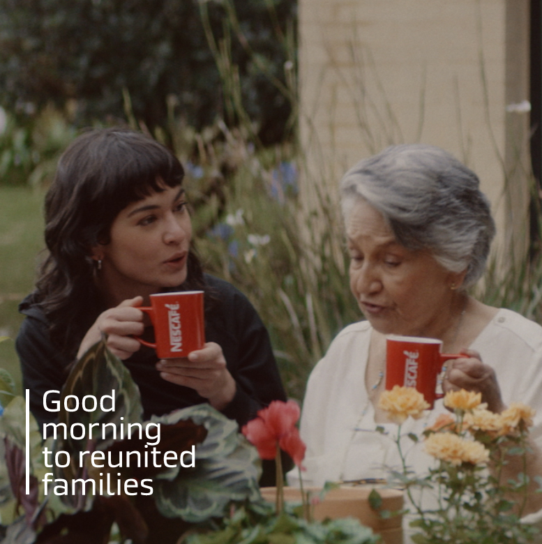 "Nescafe puts the ""Good"" back in ""Good morning"", in an European campaign signed by Publicis Worldwide"